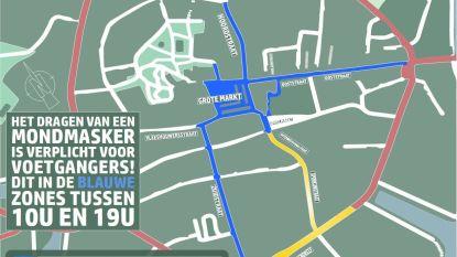 Ook mondmaskerplicht in Veurnse binnenstad