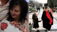 15-jarige Rachael werd van school gestuurd omdat ze zwanger was, nu haalt ze universiteitsdiploma op met dochter aan haar zijde