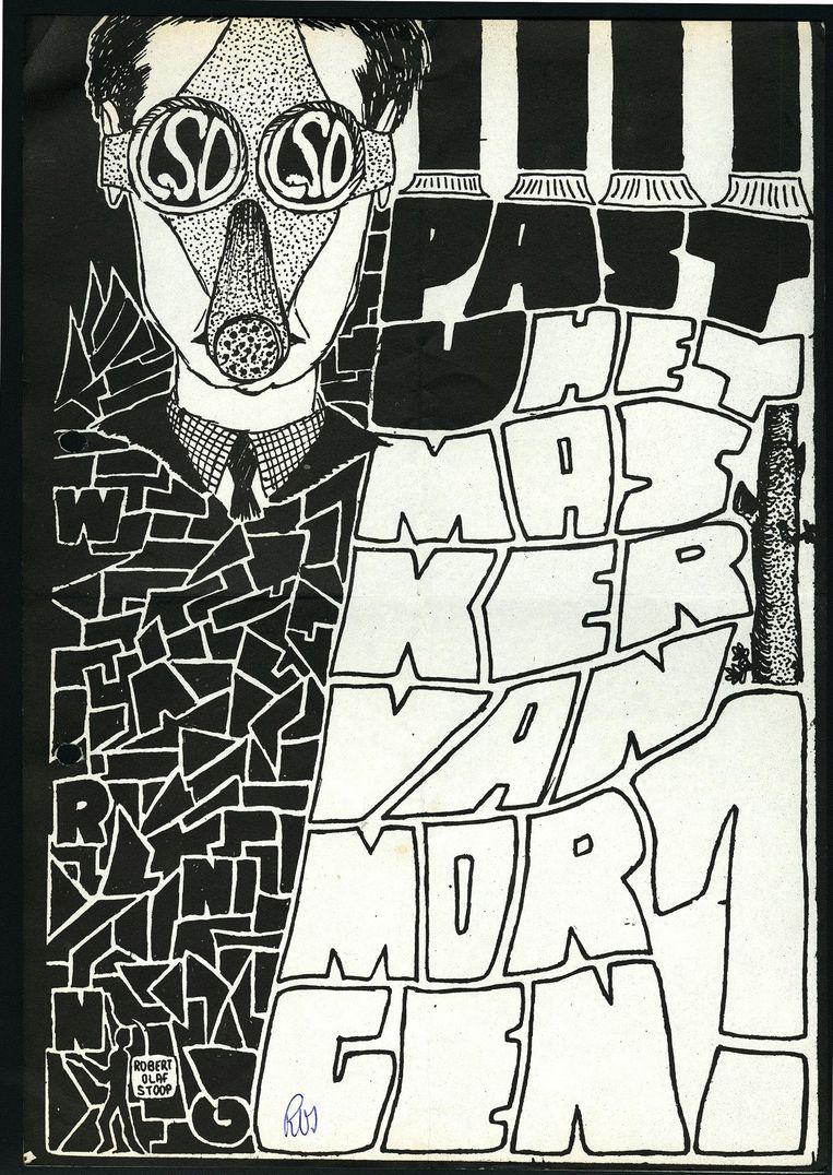 Lsd-flyer uit het archief van Peter ten Hoopen Beeld Stadsarchief