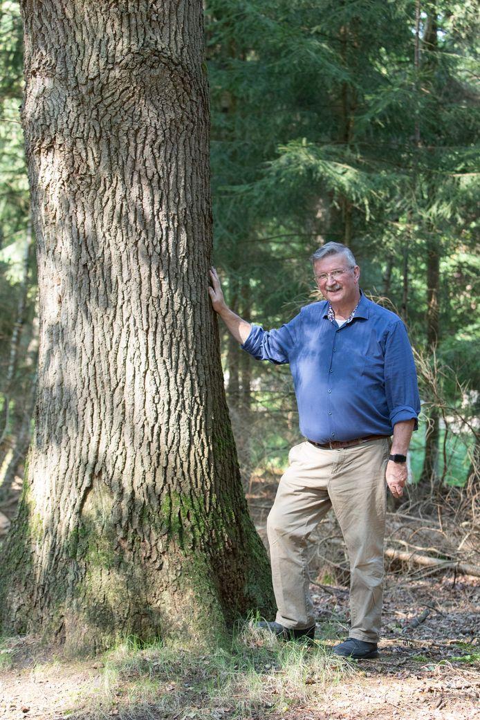 Oud-boswachter Rein Berends uit Hoge Vuursche.