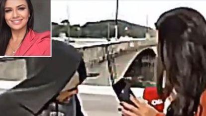 CNN-correspondente overvallen met mes terwijl ze live verslag uitbrengt