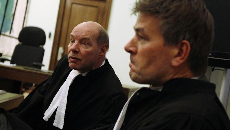 Tjalling van der Goot (R) en Wim Anker. Beeld anp