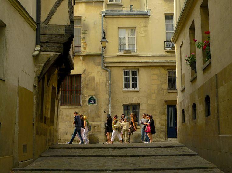 Stad: Parijs, Le Marais. 'Lopend naar de opera, naar de musea. Dat is echte vrijheid.' Beeld .