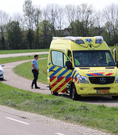 Wielrenner gewond bij valpartij vlakbij Arnemuiden