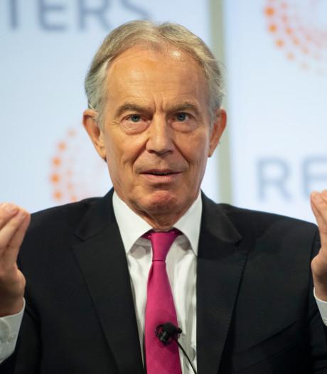 Blair ziet vertrek zonder deal niet zitten