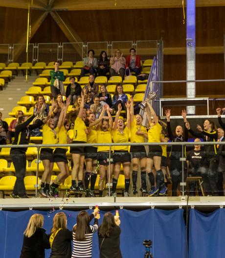 Topklassers dameskorfbal mogen nog hopen op seizoensslot, maar doen dat niet