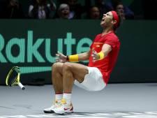 Rafael Nadal et l'Espagne s'offrent la Coupe Davis à domicile