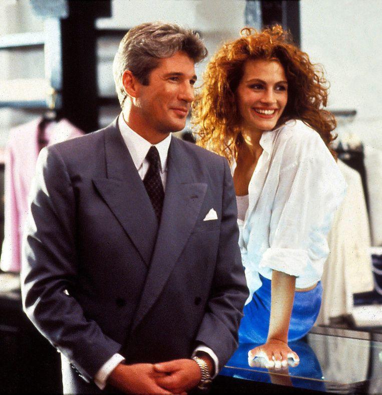 Richard Gere en Julia Roberts in 'Pretty Woman'.