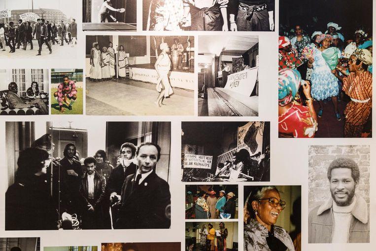 Foto's in de expositie Beeld Tammy van Nerum