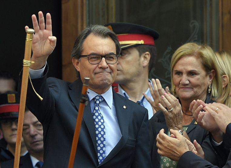 Artur Mas. Beeld AFP