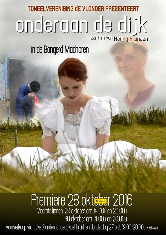 De première van Onderaan de Dijk is vrijdag 28 oktober.