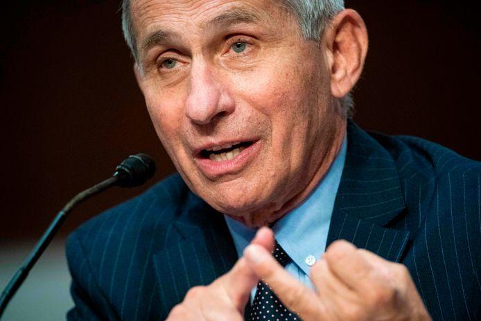 Anthony Fauci, directeur de l'Institut américain des maladies infectieuses.
