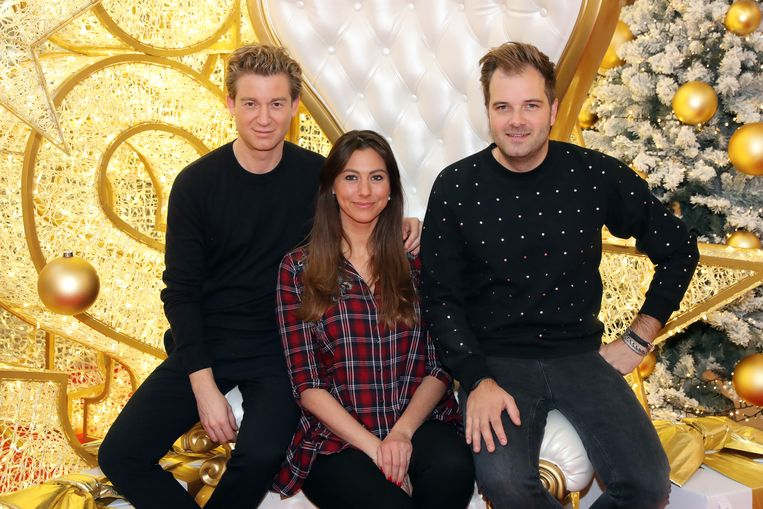 Jani Kazaltzis met Niels Albert en partner Valeska.