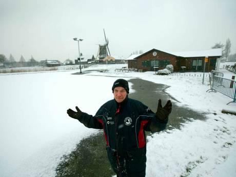 Tegenslag voor Nootdorpse IJsclub door laagje sneeuw