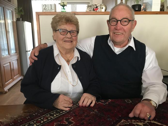 Diamanten paar Piet en Anny van den Heuvel nu