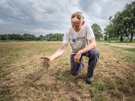 Boeren staan kurkdroog in de Achterhoek: 'Dit heb ik in veertig jaar niet meegemaakt'