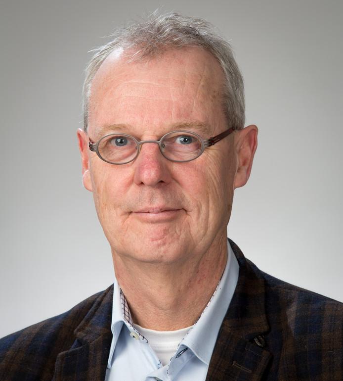 Arie van der Wilt is lijsttrekker van de PvdA Raalte bij de gemeenteraadsverkiezingen in 2018.