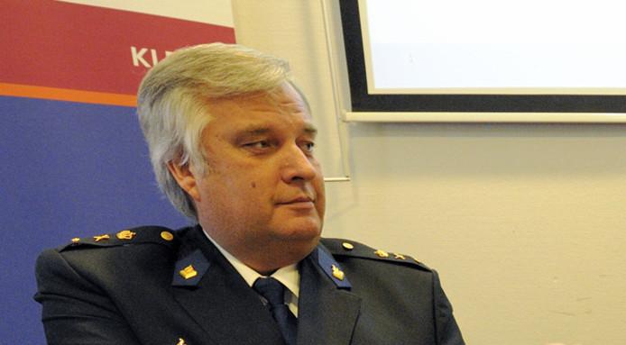 Politiechef Frans Heeres.