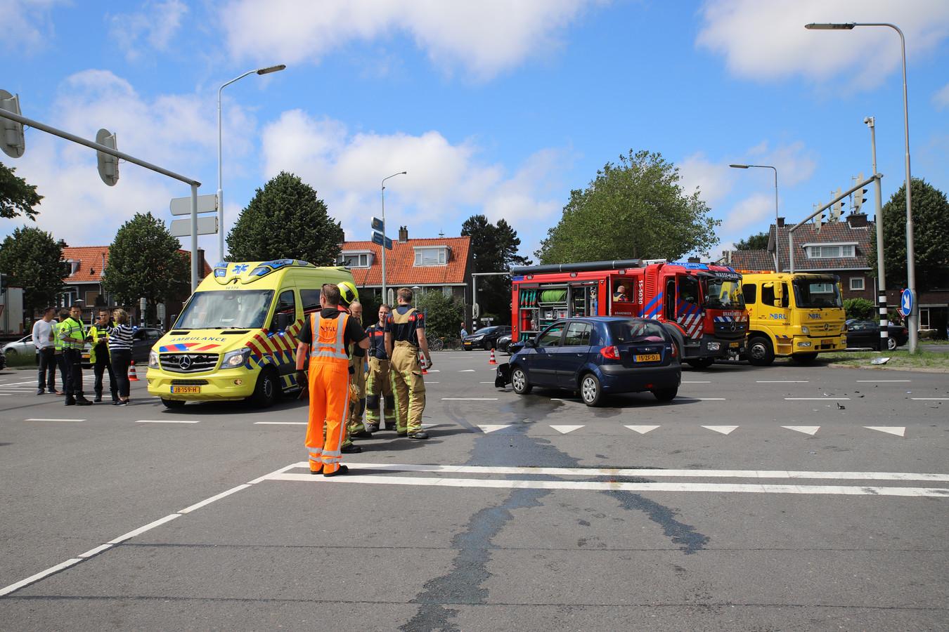 Het ongeval bij het Rozenplein.