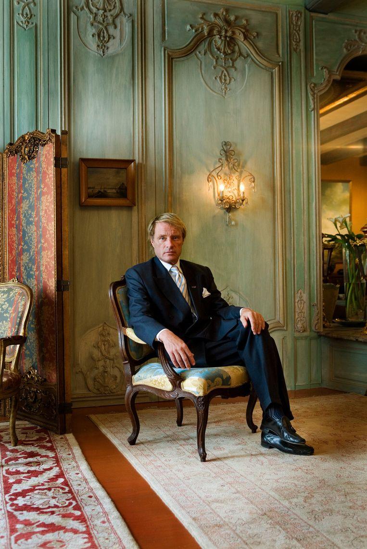 Jacob Gelt Dekker, zakenman, columnist, filantroop  Beeld Hollandse Hoogte / Mark van den Brink