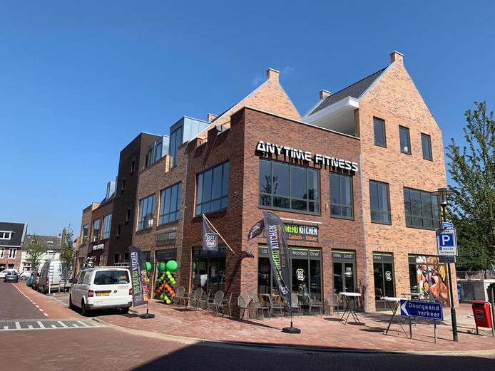 Het nieuwe woon- en winkelcomplex aan de Hilverstraat.