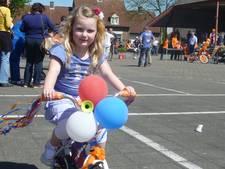 Op een gepimpte fiets naar school
