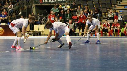 Overwinning tegen Zwitserland geeft Indoor Lions nog hoop op WK indoorhockey in Berlijn