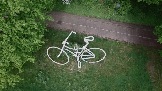 De bekende fiets van Piet Hohmann