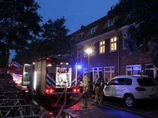 Brand op eerste verdieping in woning in Noord