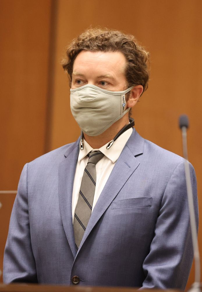 Masterson verscheen gisteren zelf - met mondmasker -  in de rechtbank.