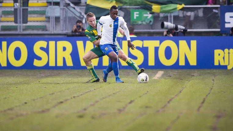 Vitesse verloor in de knollentuin van Den Haag met 2-1. Beeld anp