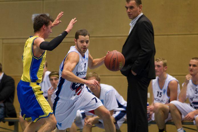 Coach Erwin Hageman staat komend seizoen weer bij Landstede/ZAC langs de lijn in de eerste divisie.