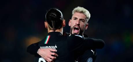 Derde overwinning op rij voor AC Milan
