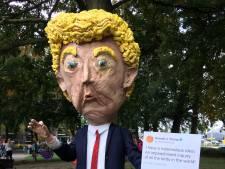 'Strumpert' Donald Trump en andere creaties maken indruk bij Vogelverschrikkerfestival in Valkenswaard