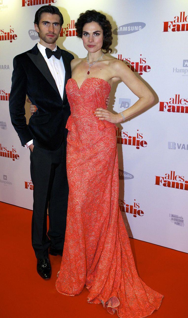 Benja met vriendin Anna Beeld anp