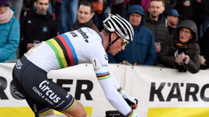 LIVE. Start! Evenaart Van der Poel in Middelkerke record van Sven Nys in de Superprestige?
