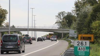 E40 dinsdagnacht dicht tussen Erpe-Mere en Wetteren