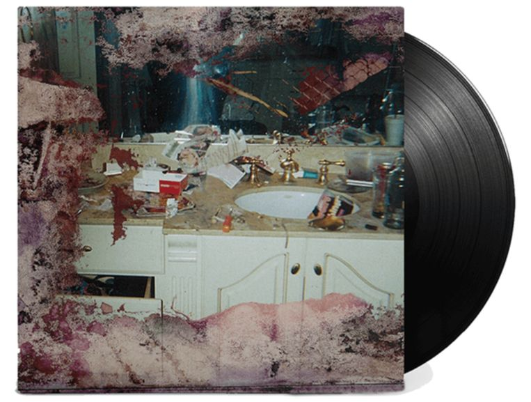 De albumcover. Beeld