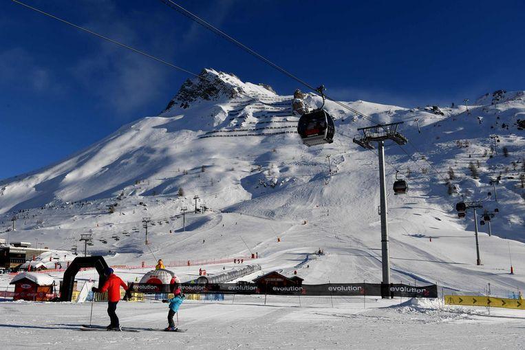 Beeld ter illustratie, wintersport in Tignes.
