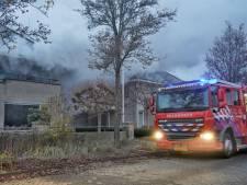Grote woningbrand in Dedemsvaart, geen slachtoffers