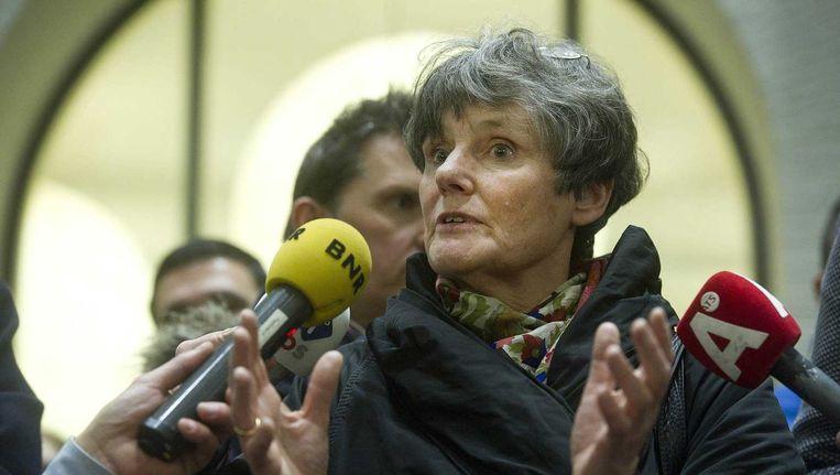 Louise Gunning bood zaterdagavond haar ontslag aan als voorzitter van het College van Bestuur. Beeld anp