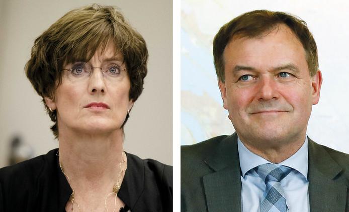 Marianne Bloos en Marc van Nimwegen.