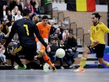 Minimaal verlies zaalvoetballer Said Bouzambou met Oranje