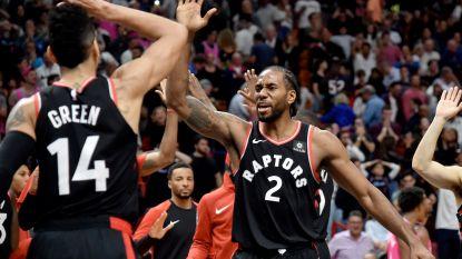 Raptors laten zich niet verrassen bij Miami Heat