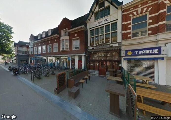 Het café in de Deventerstraat. Foto: Google Streetview