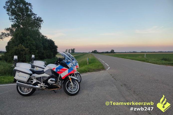 Snelheidscontrole in Werkendam.