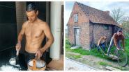 SHOWBITS. Louis Talpe toont Zweedse gebruiken en Jan en Romina spelen boerderijtje