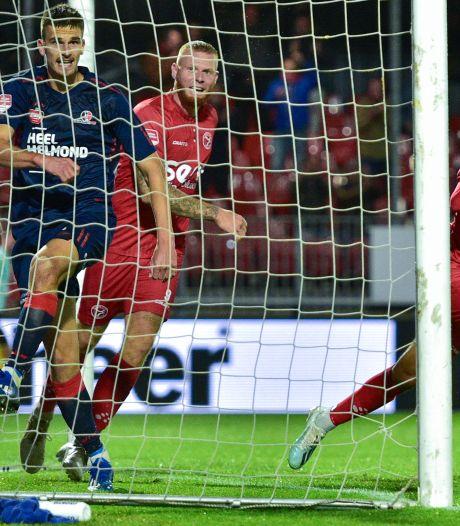 Moeilijk scorend Helmond Sport na rust ten onder tegen Almere City
