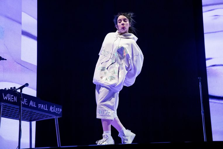 Billie Eilish op Coachella
