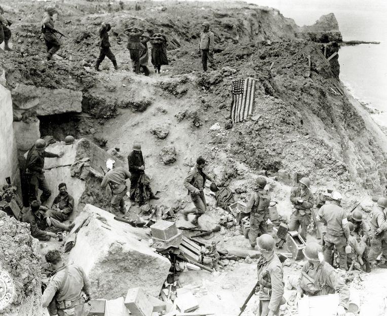 De slag om Caen. Beeld getty